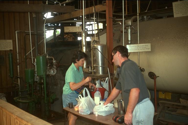 Collins Brothers Steampowered Sawmill Kerikeri New Zealand